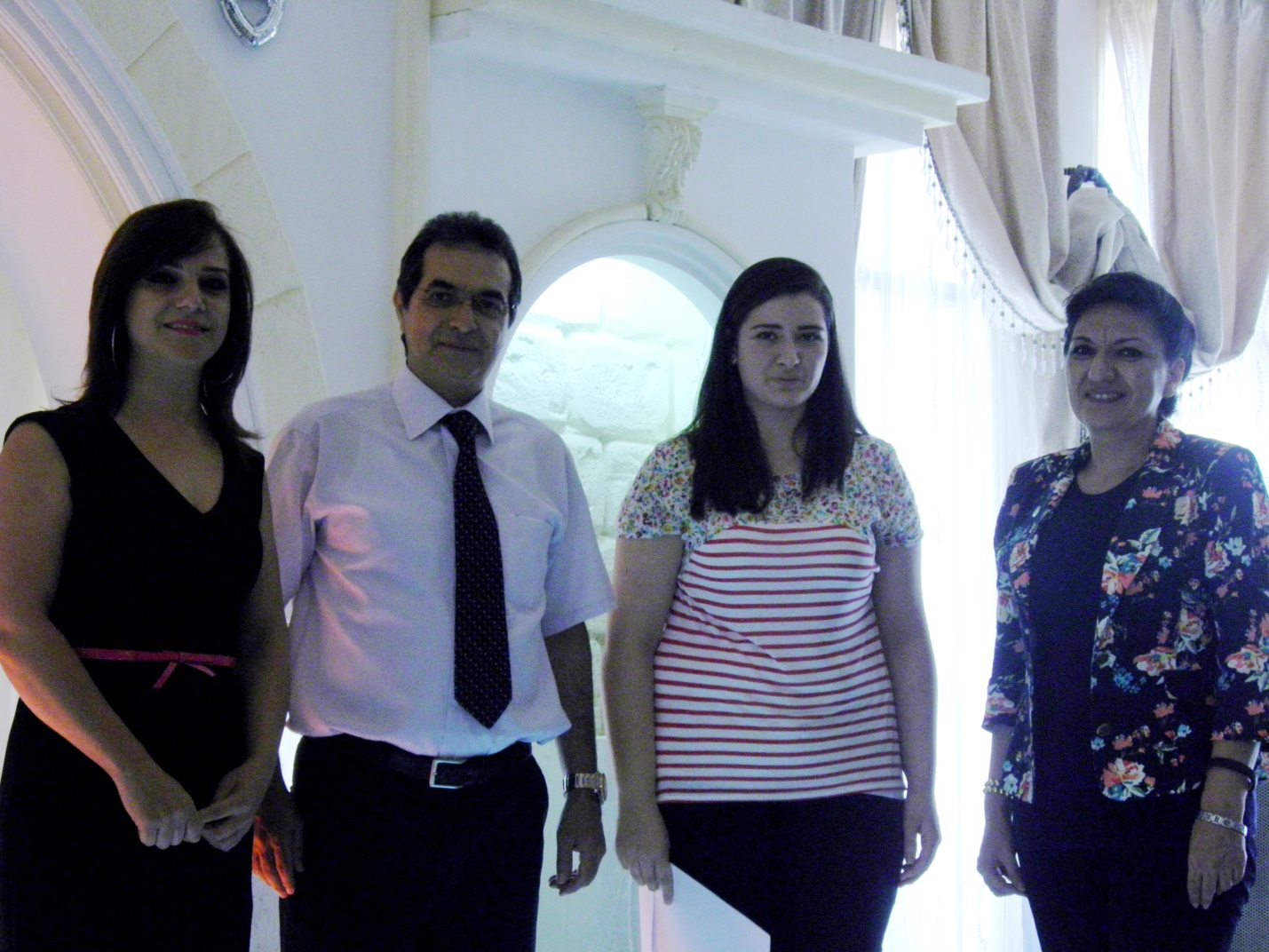 Mrs. HikmatDaou, Mr. HaithamShaarawy , Ms. AmenaBarraj and Mrs. ReemBouZeineddine